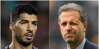 Fabio Paratici e Luis Suarez