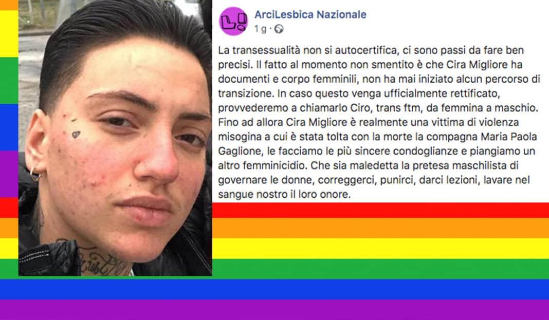 ciro cira caivano lesbiche trans gaglione