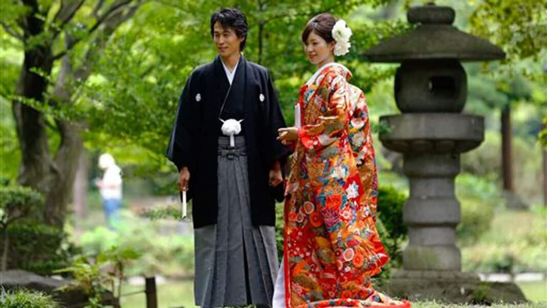 Giappone, sposi