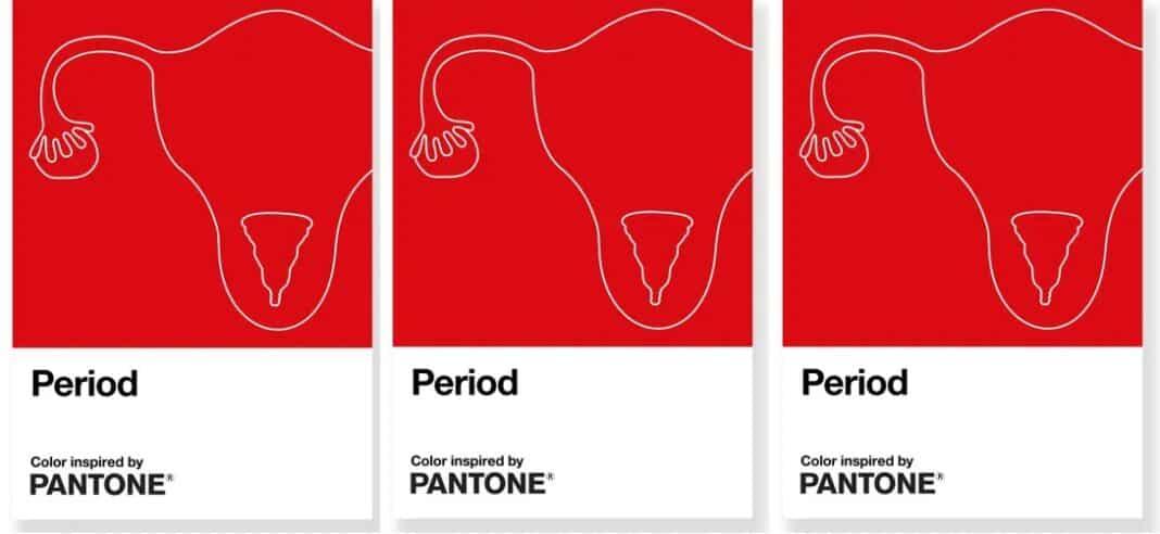 Pantone, period red