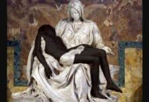 Pietà di Michelangelo, scultura