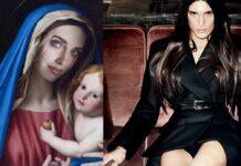 Copertina Vanity Fair con la Ferragni e donna trans
