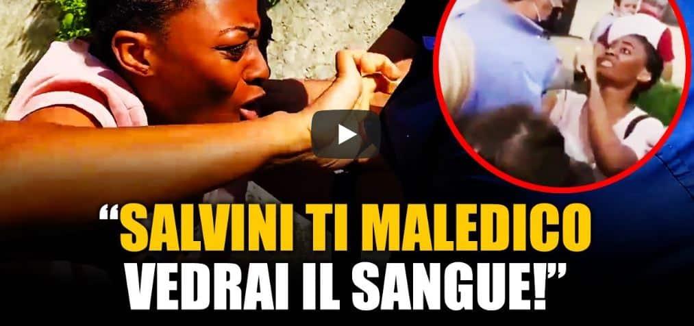 Salvini, aggressione