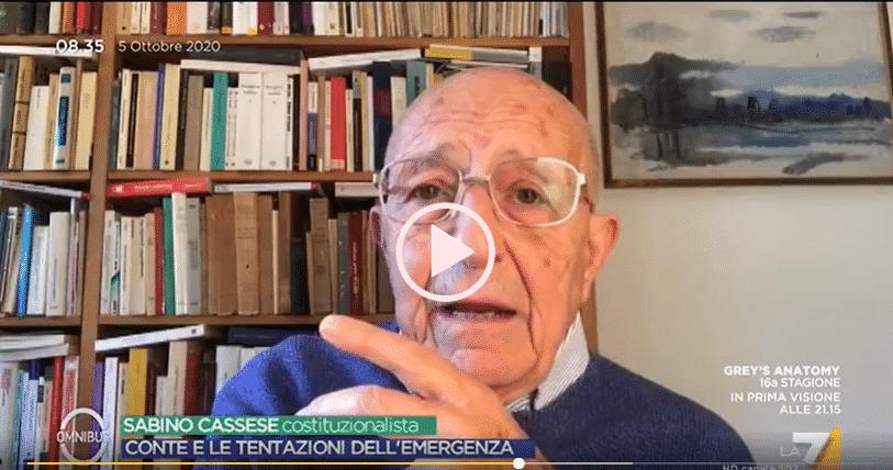 Sabino Cassese, costituzionalista