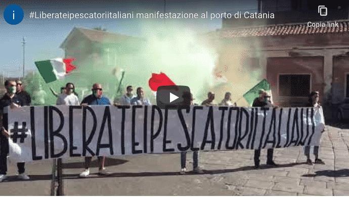 pescatori manifestazione catania