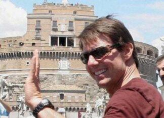 Tom Cruise a Roma