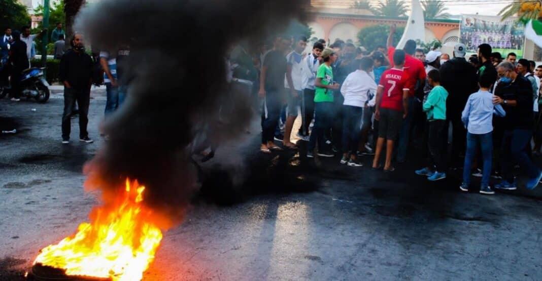 Tunisia, protesta