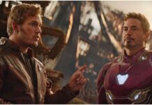 Chris Pratt e Robert Downery Jr in un film Marvel