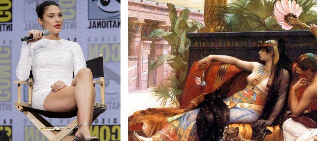 Gal Gadot è Cleopatra