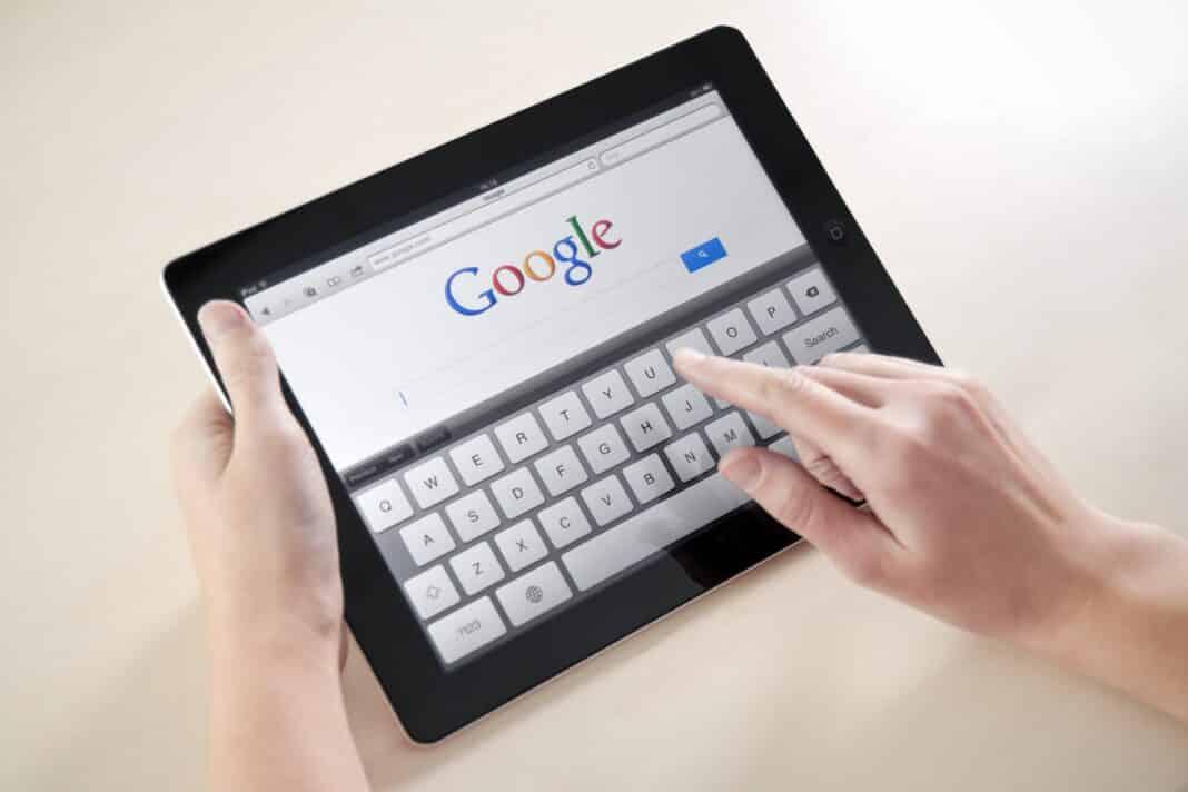 Google mani che cercano