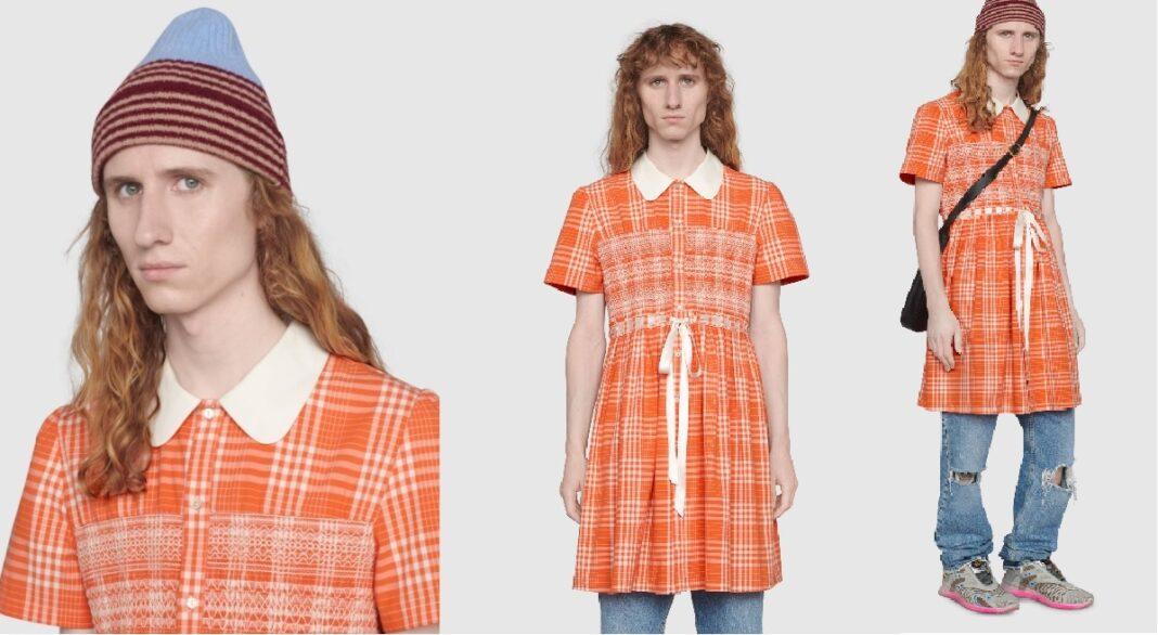 Gucci e il vestitino gender fluid