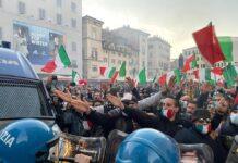 Mascherine Tricolori a Roma
