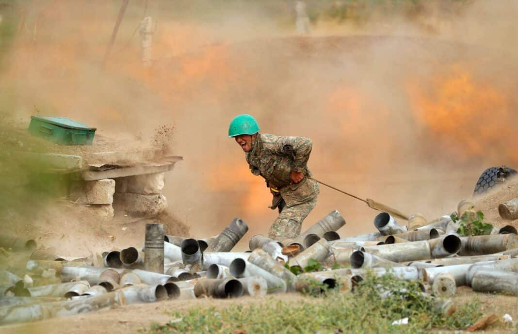 Nagorno-Karabakh, guerra