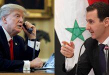 Siria, Trump