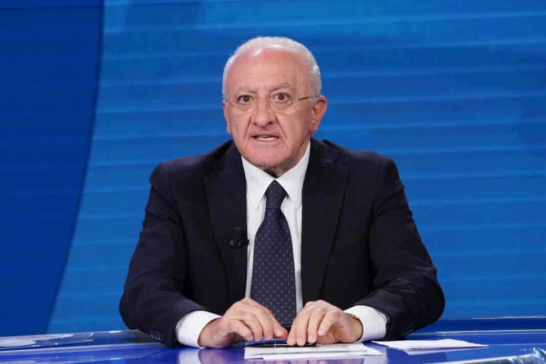 Vincenzo De Luca, Lockdown in Campania