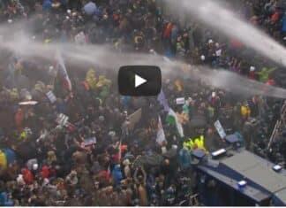 Berlino, proteste