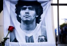 Maradona, funerali