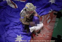 Cina, soldato australiano