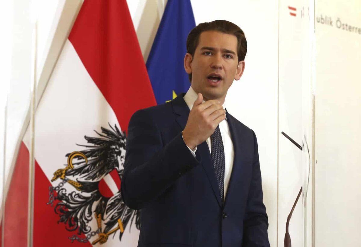 Austria, l'annuncio di Kurz: