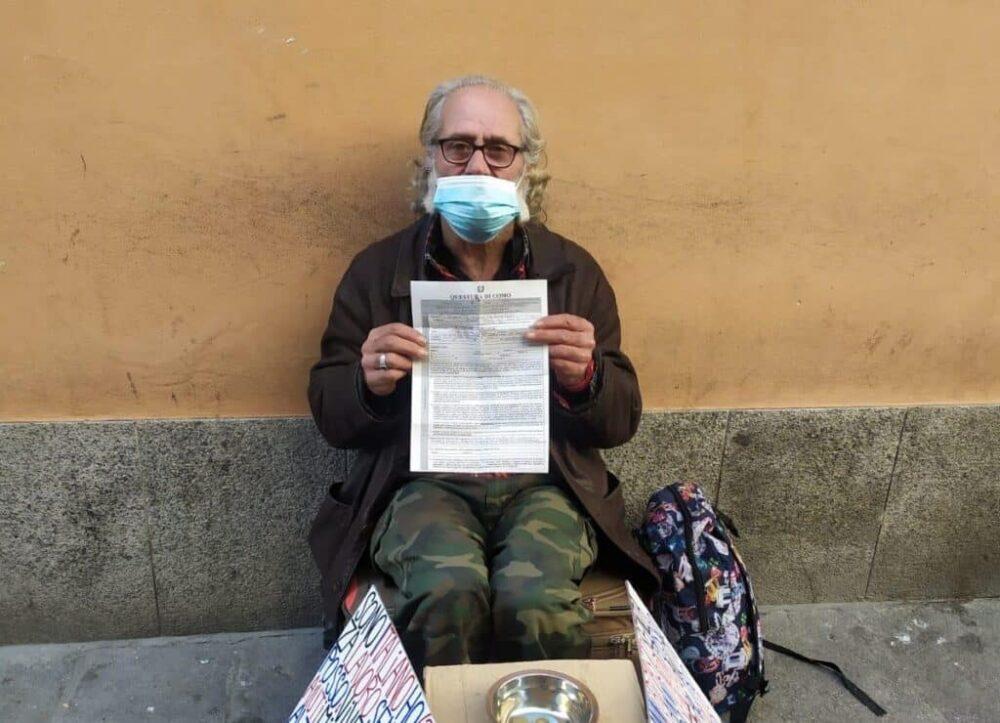 Como, senzatetto