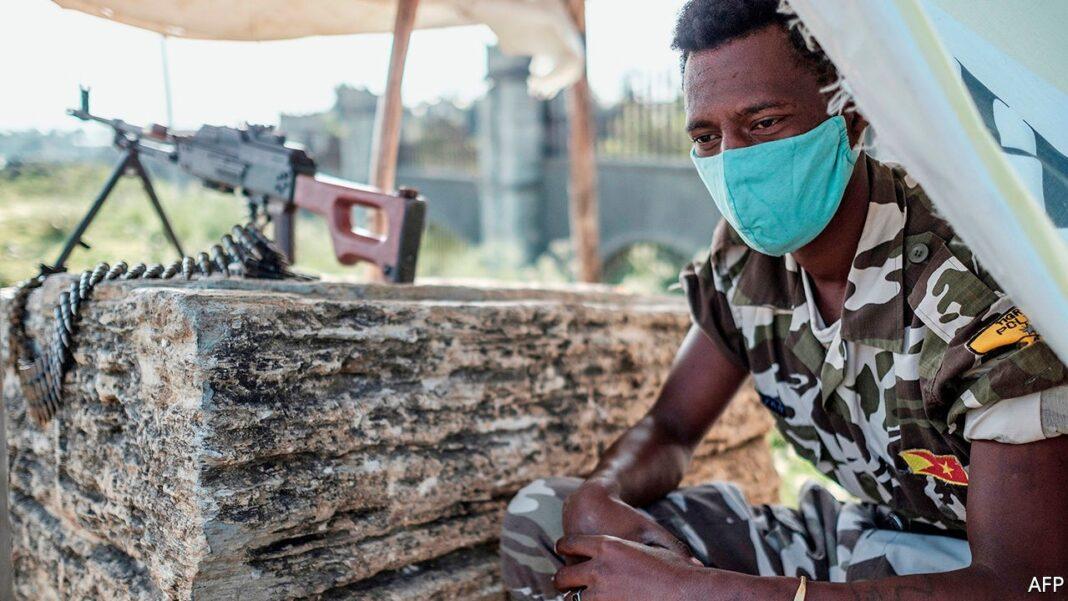 Etiopia, guerra