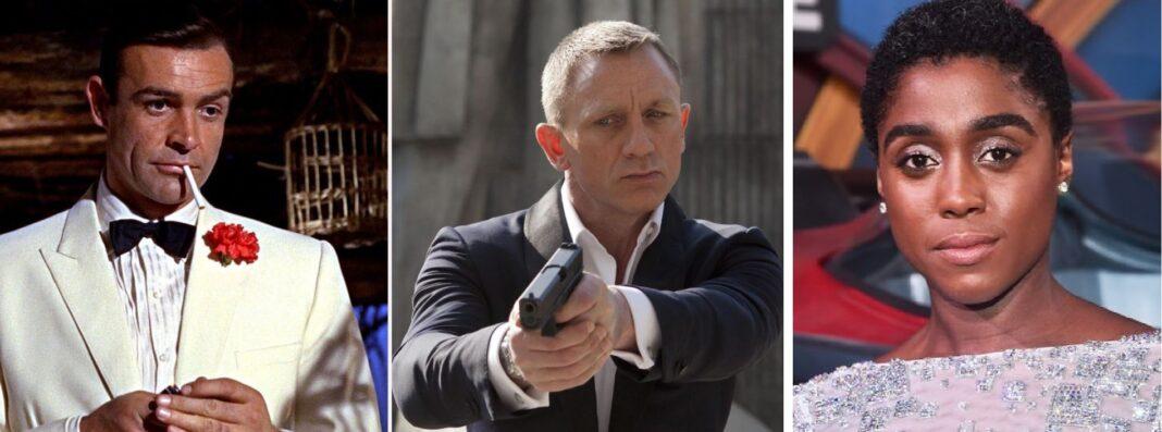 James Bond nera e donna