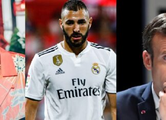 Macron giocatori francesi