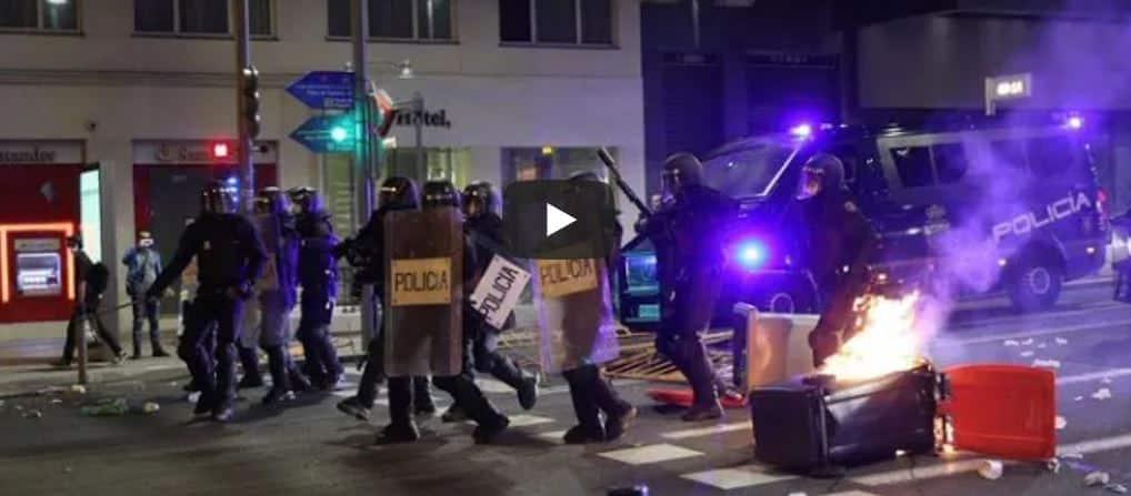 Spagna, proteste