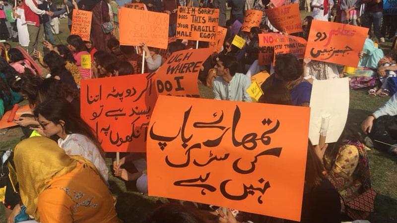 proteste Pakistan