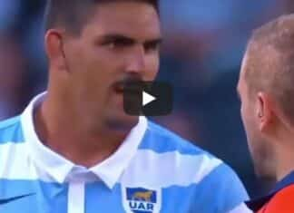 Rugby, capitano Argentina