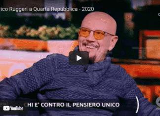 Enrico Ruggeri intervista porro covid razzismo