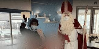 Belgio Babbo Natale covid casa di cura