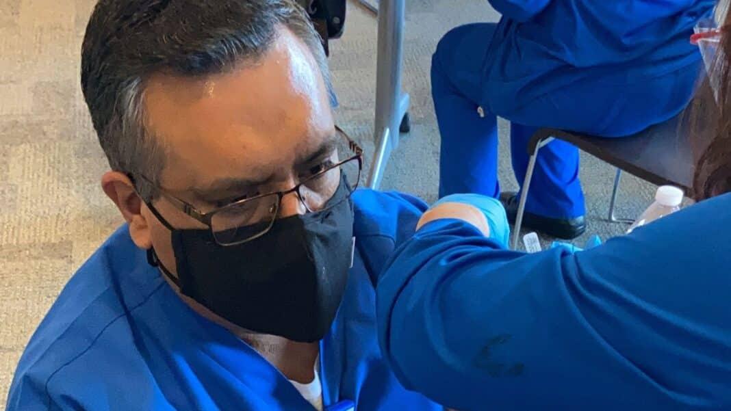 infermiere vaccino positivo