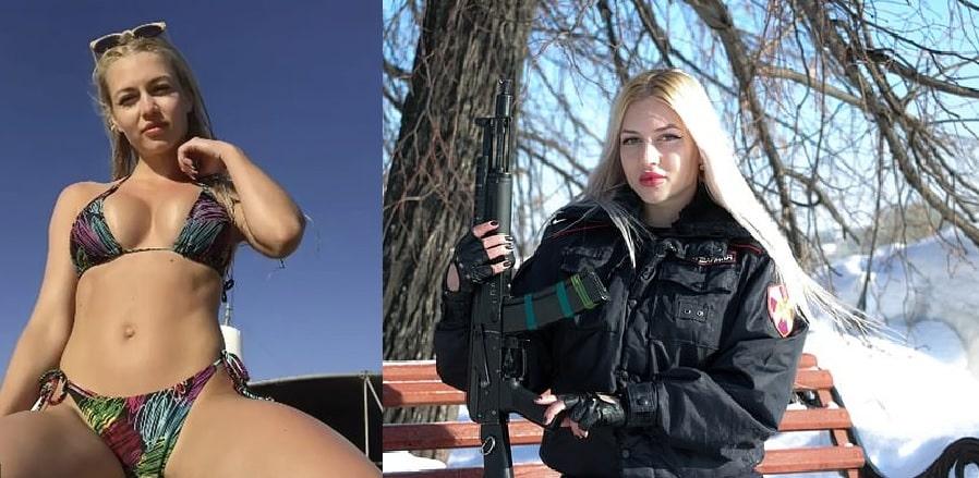 Soldatessa russa
