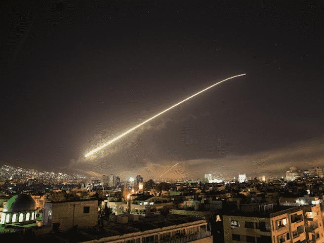 israele missili siria