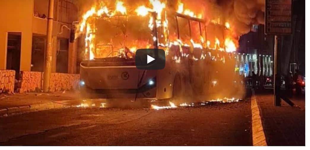 Israele, bus