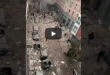 Madrid, esplosione