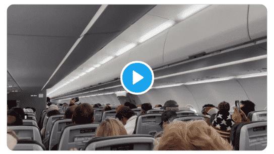 passeggeri Trump pilota scendere kansas
