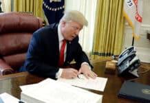 Trump, lettera