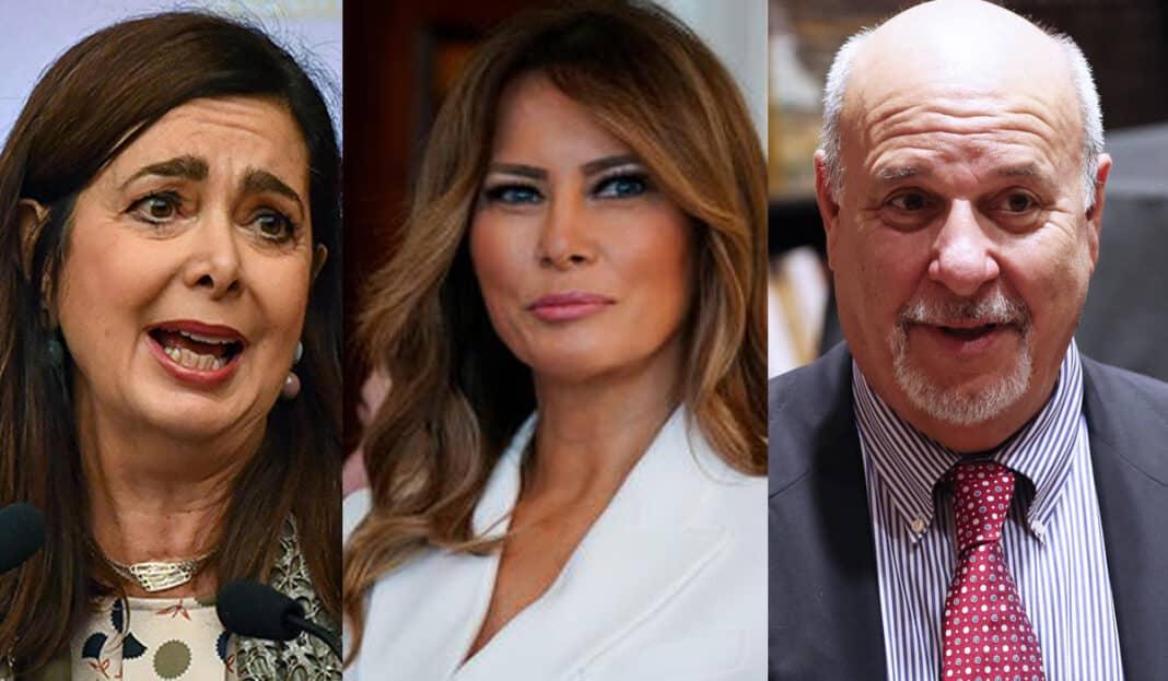 Boldrini Friedman melania trump lingua
