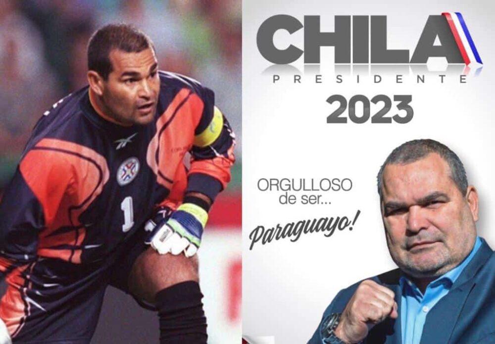 Chilavert, goleador