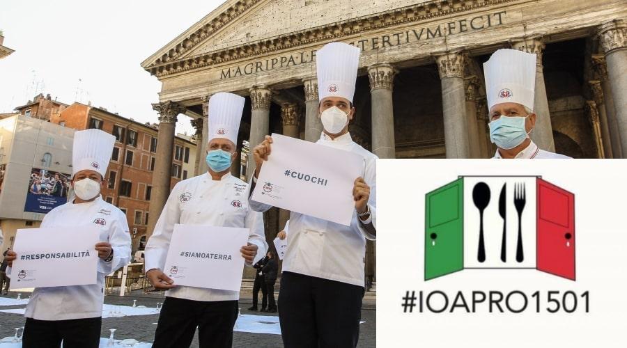 protesta ristoratori ioapro dpcm