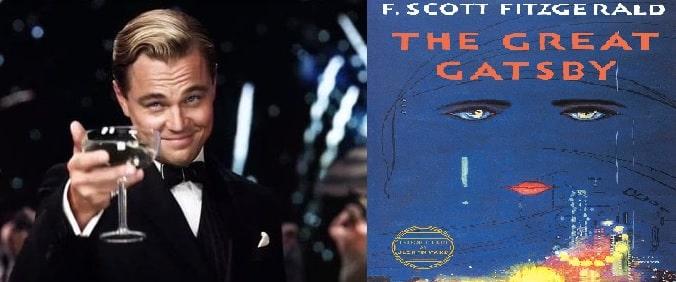 Di Caprio Grande Gatsby