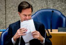 Mark Rutte, Olanda