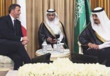 Renzi, Arabia Saudita