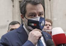 Salvini, Senato