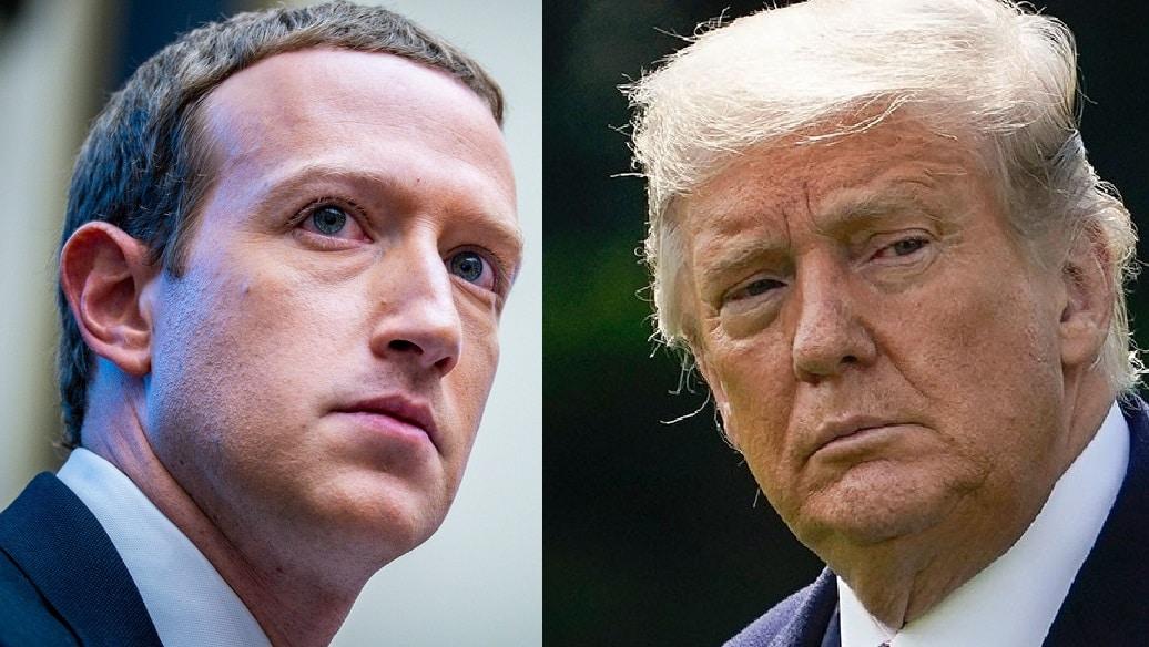 zuckerberg trump facebook