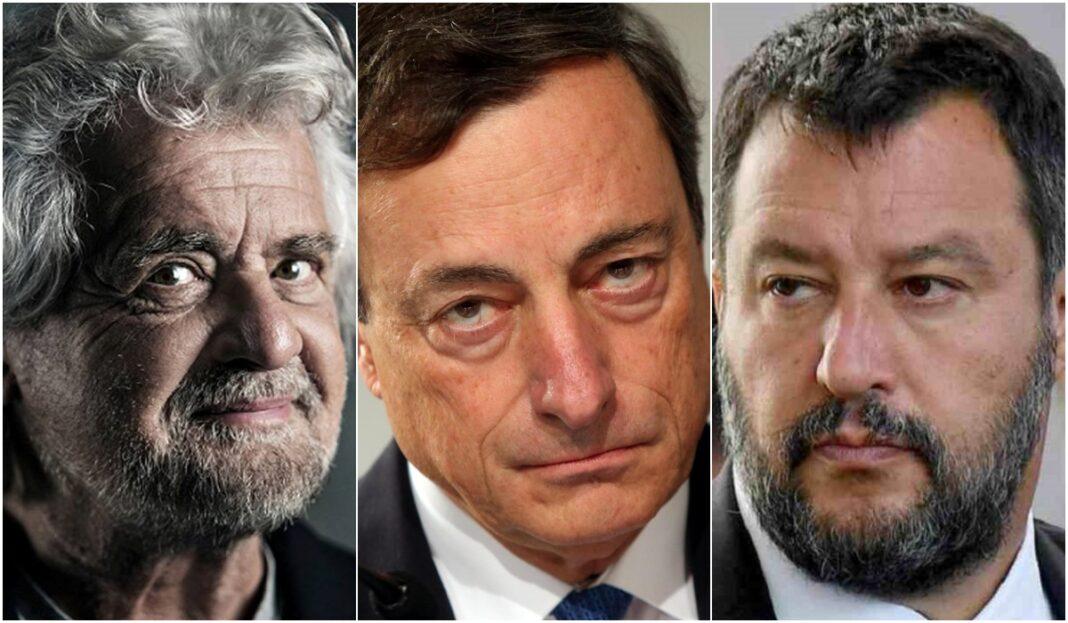 Draghi maggioranza
