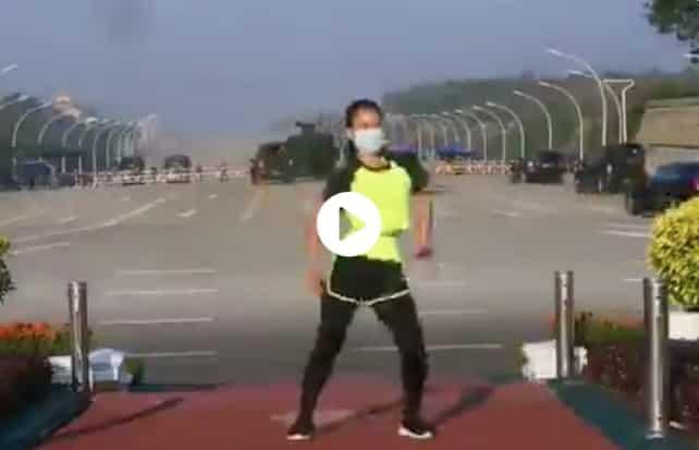 influencer aerobica
