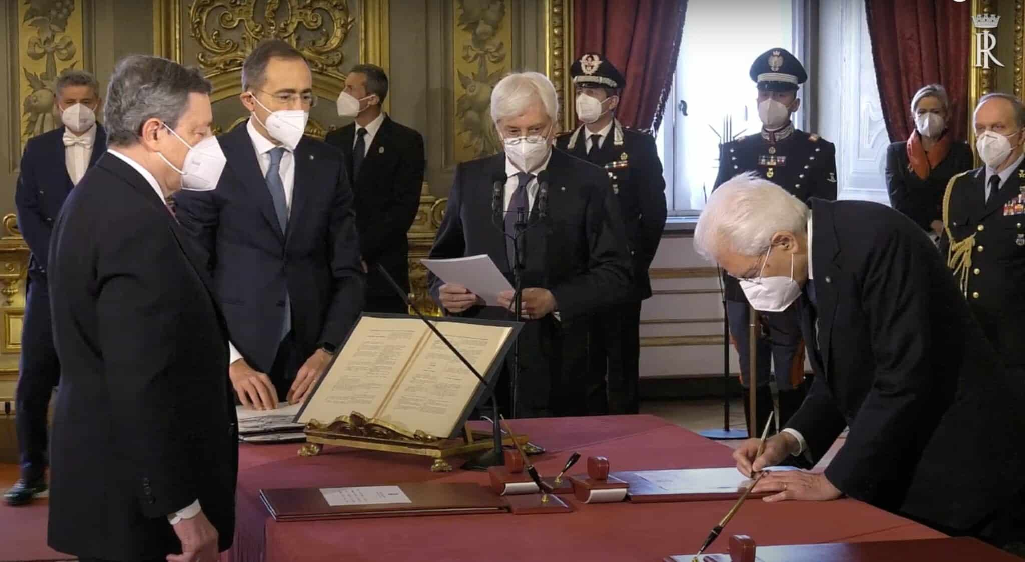 Tutti i ministri hanno giurato,governo operativo - Primopiano